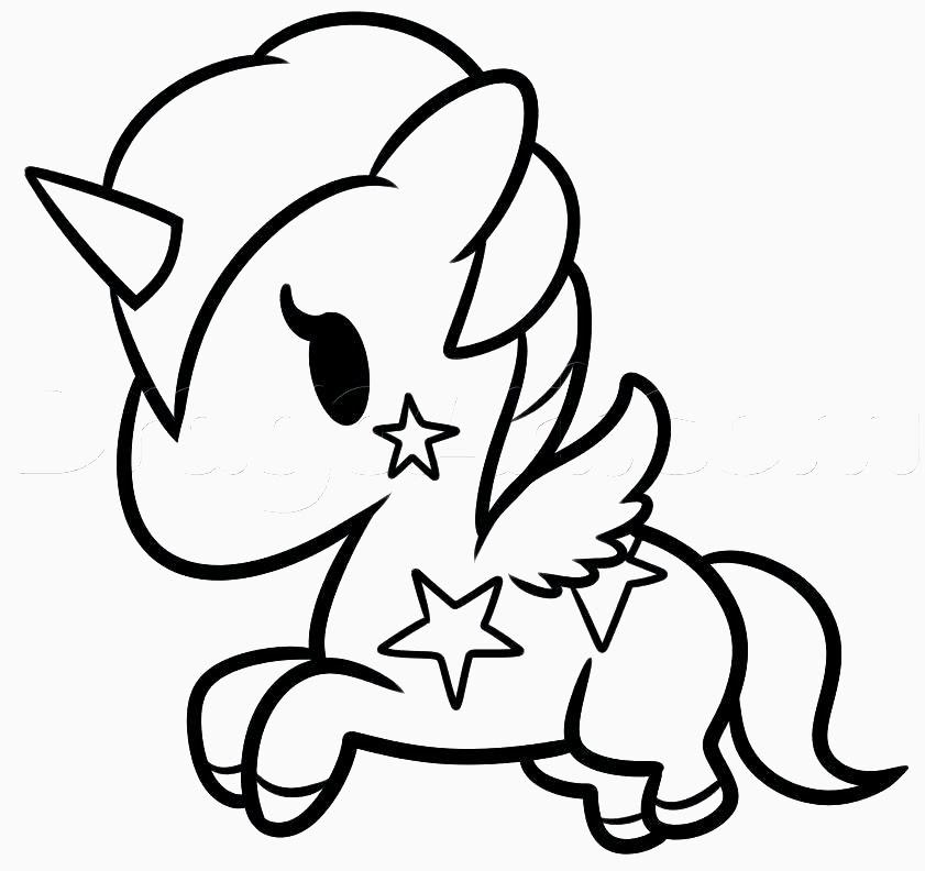 Unicornio Dibujos Para Colorear