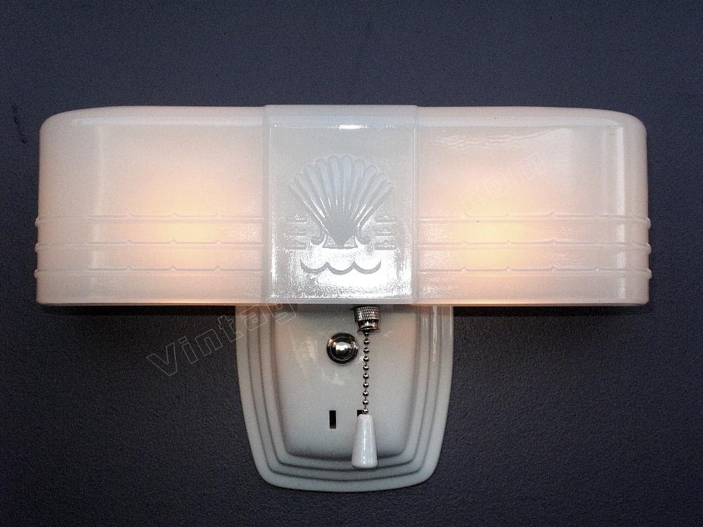 Art Deco Bathroom Light Fixture Antique Deco Lighting Fixture Cottage