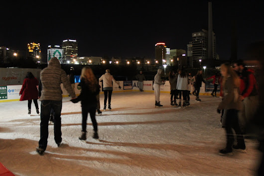 Learn How You Can Ice Skate In Railroad Park In Brrrmingham