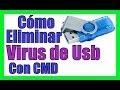 Eliminar VIRUS de Pendrive Memorias USB【SIN ANTIVIRUS】