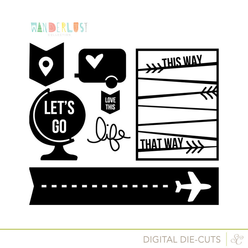 Picture 1 of Wanderlust Cut Designs