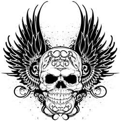 Tribal Tattoos Images Skulls Wallpaper And Background Photos 28723364
