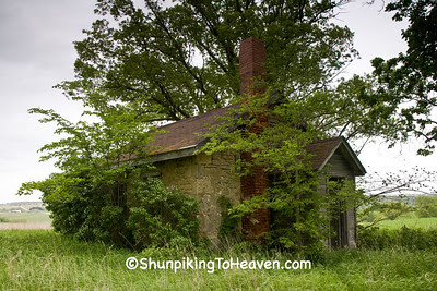 Small Stone Building, LaFayette County, Wisconsin