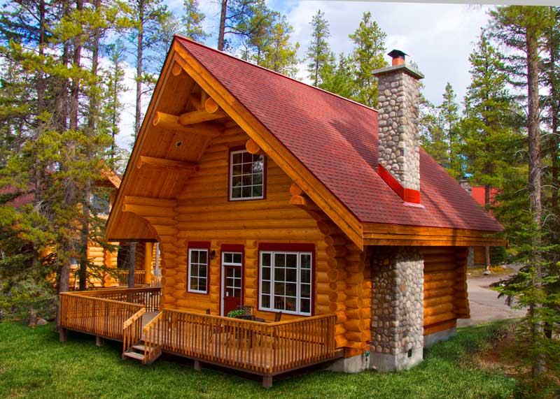 Family Cabin Exterior