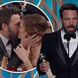 'She's the reason I'm standing here': Underdog Ben Affleck praises wife Jennifer Garner as Argo scoops top Golden Globe honours after Oscars snub