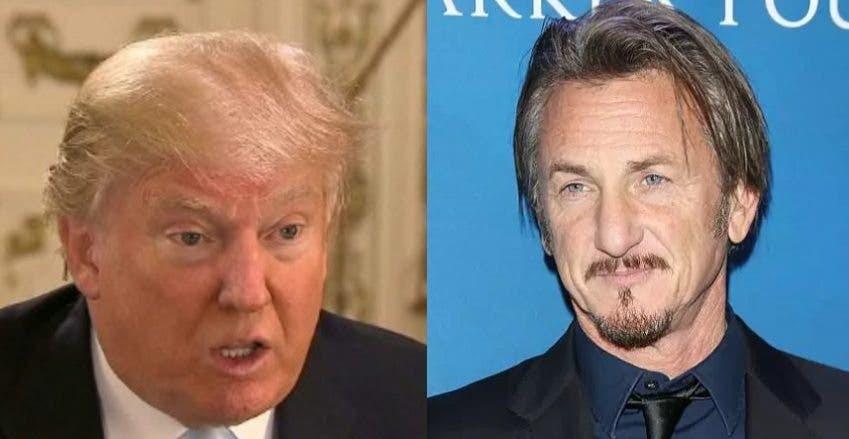 Image result for Sean Penn: Donald Trump