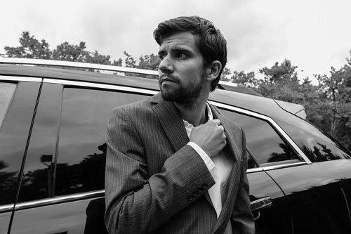 Businessman wearing business suit