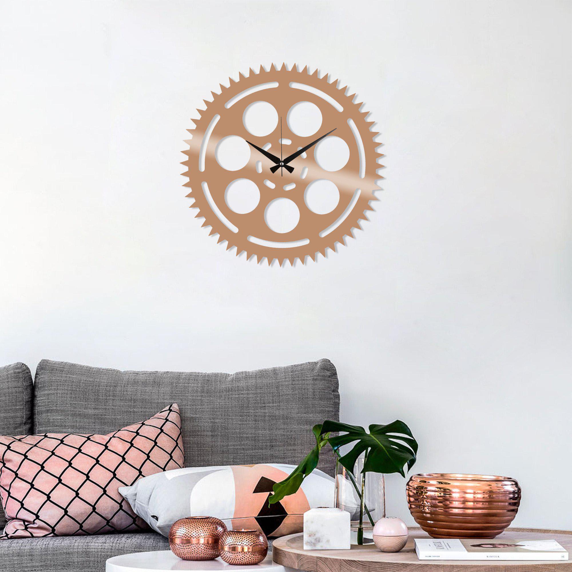 Metal Wall Clock 9 Copper Wall Art Metal Wall Art