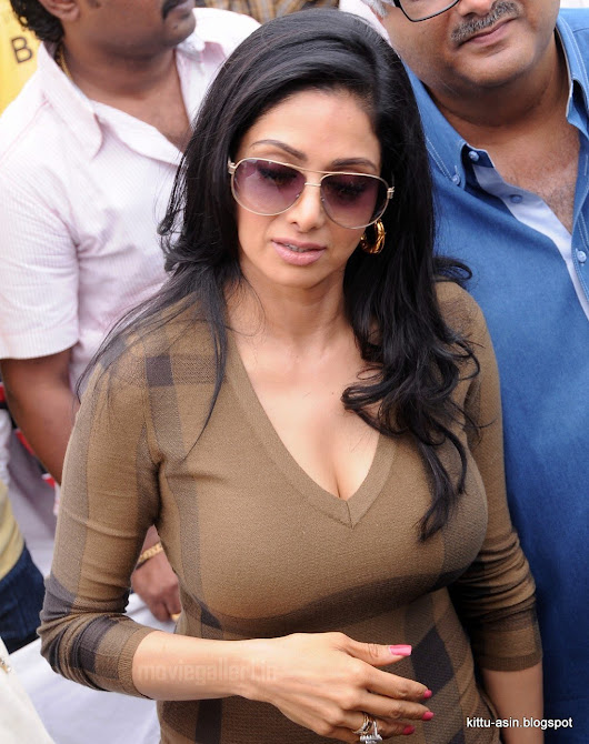 Old Atress Sridevi Hot Big Boobs Pop Out Latest Images