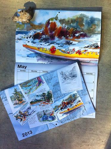 My Trip to Alaska: 12 Month Calendar (2013) by apple-pine