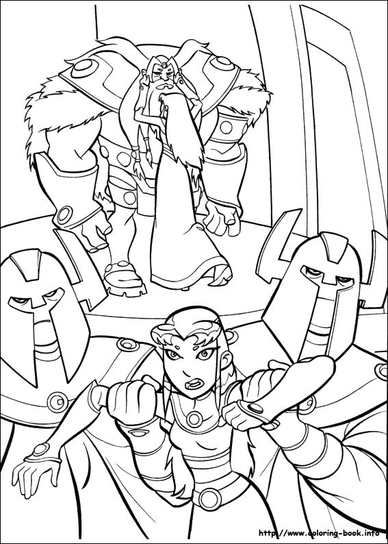 Teen Titans Coloring Pages On Coloring Bookinfo