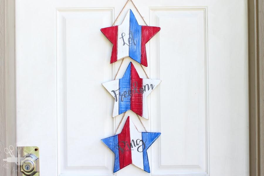 Stars and Stripes Door Hanger-12