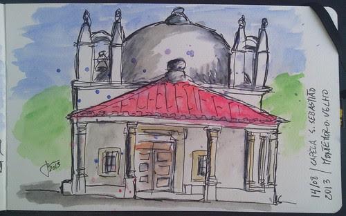 Capela de São Sebastião - Montemor-o-Velho by JMADesigner