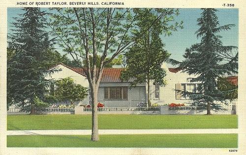 House of Robert Taylor, Beverly Hills, LA