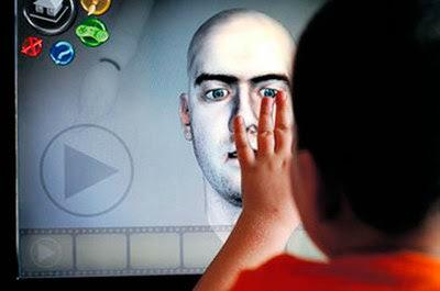 Jogo virtual para criança autista