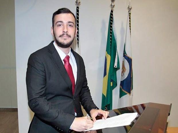Oliveira toma posse no Tribunal de Contas da União (TCU), em Brasília. (Foto: Marcos Alberto/Arquivo Pessoal)