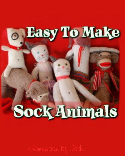 9 Easy to Make Sock Animals