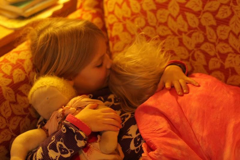 cuddly children <3