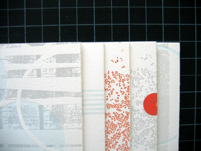 a beautiful letterpress collaboration