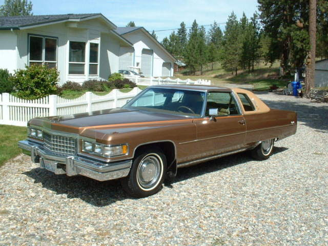 """1976 Cadillac Coupe Deville D""""Elegance Only 32,000 Actual ..."""