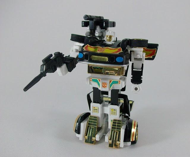 Transformers Ricochet G1 Reissue - modo robot