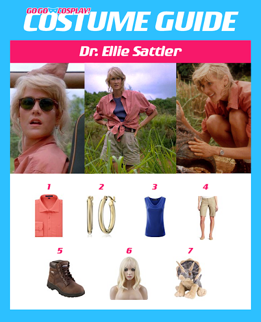 Make Your Own Dr. Ellie Sattler from Jurassic Park Costume with this DIY Guide