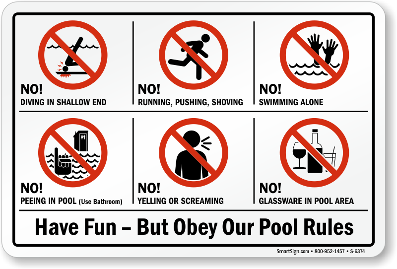 Swimming Pool Safety Signs Australia - Best Foto Swimming ...