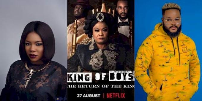 Filmmaker, Kemi Adetiba considers starring Whitemoney in movie, King of Boys Season 2