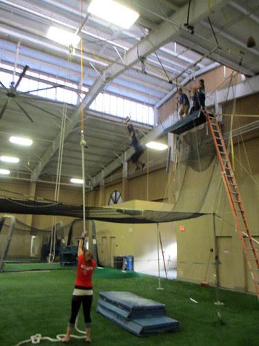 trapeze lesson
