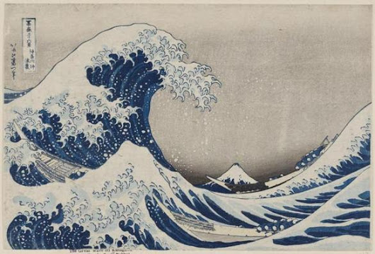 Japanese master Hokusai subject of brilliant MFA show - Theater & art - The Boston Globe