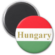 Hungary Fridge Magnet