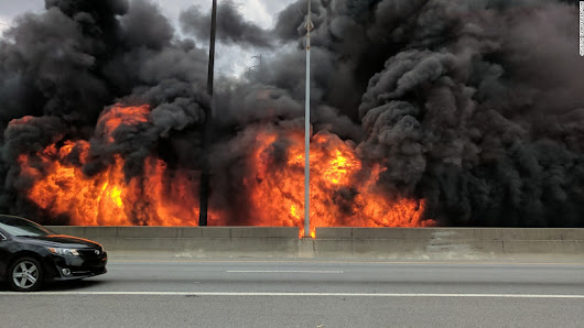 After I-85 fire, states taking closer look under bridges