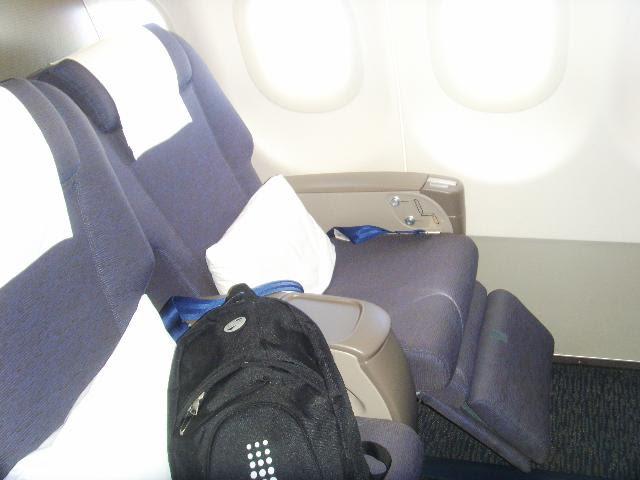 Business Flight Gulf Air Airbus A320 Business Class Seat