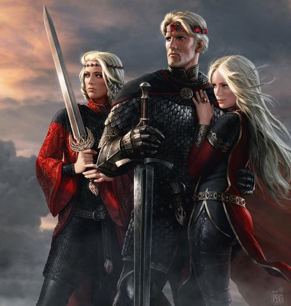 File:Aegon And His Sisters by Amok..png