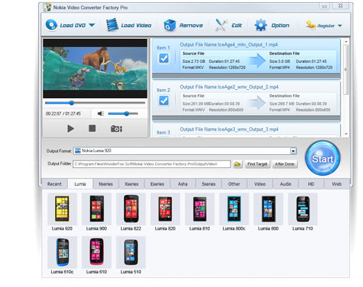 WonderFox Nokia Video Converter