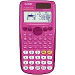 CASIO FX-300ESPLUS-PK Fraction and Scientific Calculator (Pink)