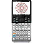 HP - Prime Handheld Graphing Calculator - Black 2AP18AA