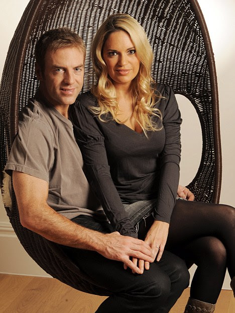 Ameera with husband Donal MacIntyre