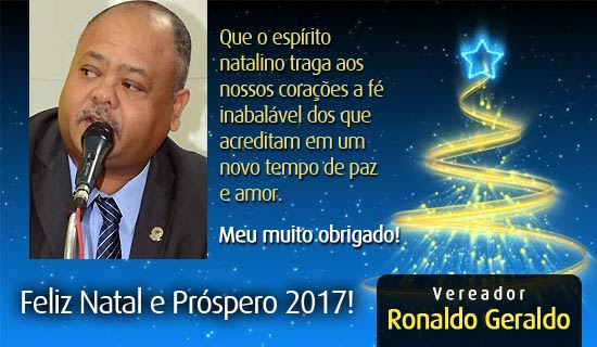 vereador ronaldo geraldo
