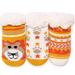 Muk Luks Infant Booties and Crib Shoes Tuscan - Tuscan Sun Three-Pack Infant Booties - Kids