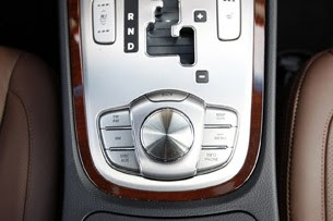 2011 Hyundai Genesis Sedan multimedia system controls