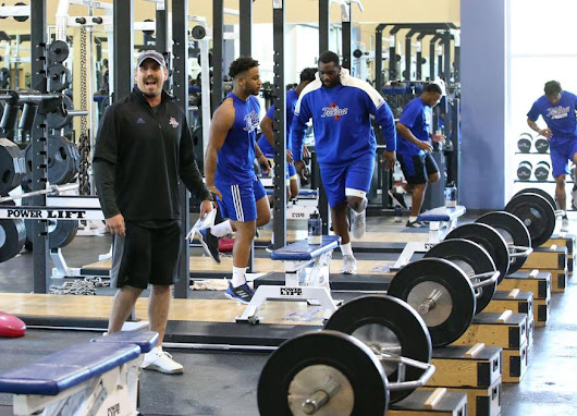 TU football: New strength and conditioning coach Erich Anthony in vital role
