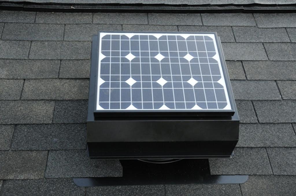 Solar Powered Attic Ventilation Fans | Solar Energy USA