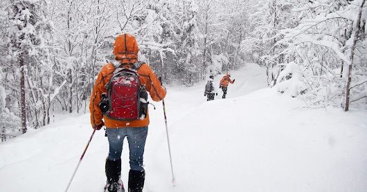 10 great places to try snowshoeing for the first time
