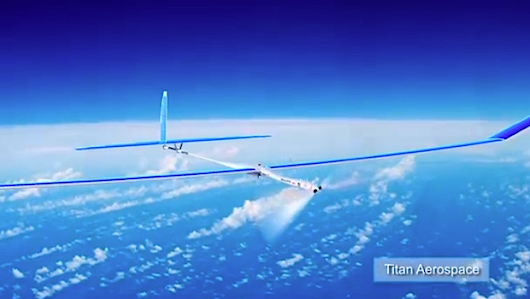 Google Engages Facebook With Nonstop Solar Drones