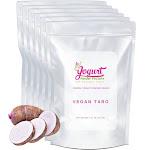 Vegan Taro Frozen Yogurt Pre Mix One Box (12kg/26.45lb) - Yogurt Powder Factory