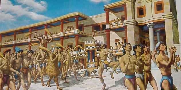 Resultado de imagen para Civilizaciones Minoica: