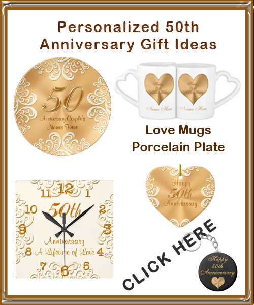 Gift For Wedding Anniversary Of Parents: Wedding Anniversary Gifts: Traditional 50th Wedding