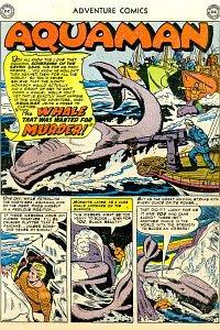 Adventure #174 Aquaman Splash Page