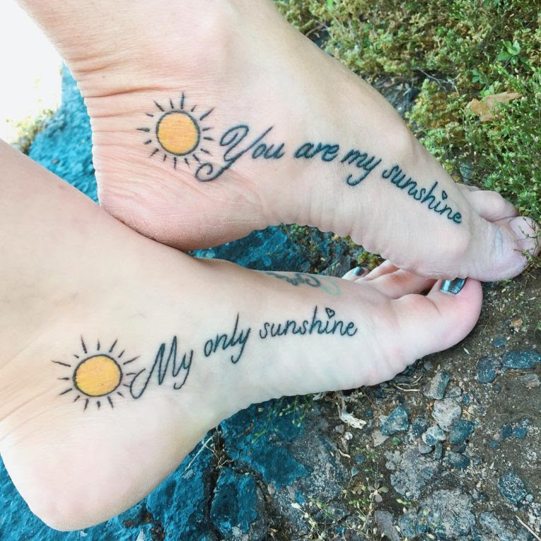 90 Sweet Matching Mother Daughter Tattoo Designs Meanings 2019